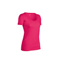 Icebreaker SF150 SS Tech Scoop Women's hibiscus